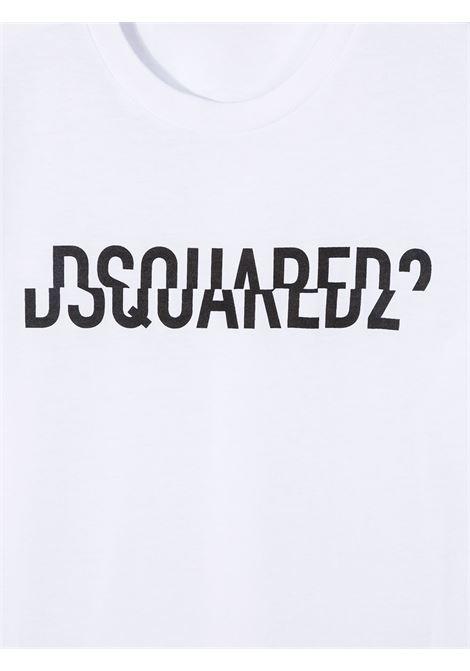 T-shirt bianca DSQUARED | T-SHIRT | DQ046UD002FD2T576MDQ100