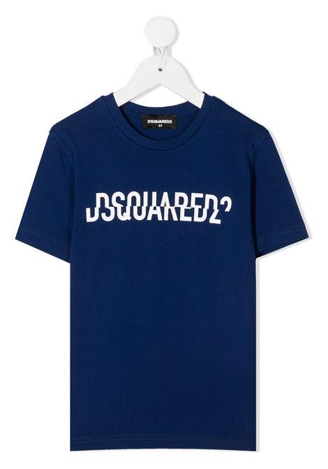 T-shirt blu DSQUARED | T-SHIRT | DQ046UD002FD2T576MDQ865