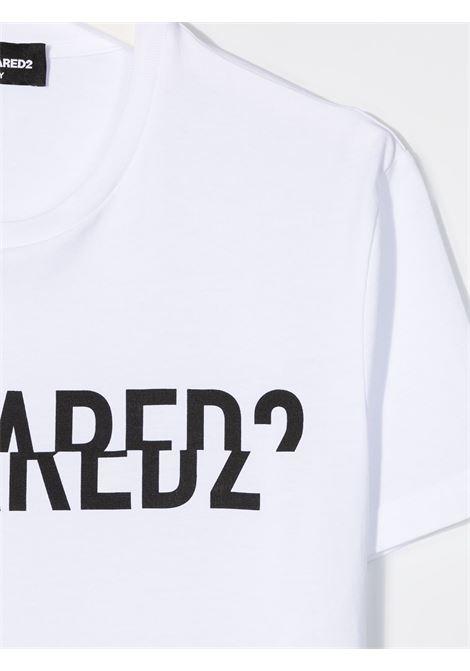 T-shirt bianca DSQUARED | T-SHIRT | DQ046UD002FTD2T576MDQ100