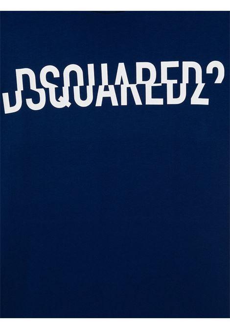 T-shirt blu DSQUARED | T-SHIRT | DQ046UD002FTD2T576MDQ865