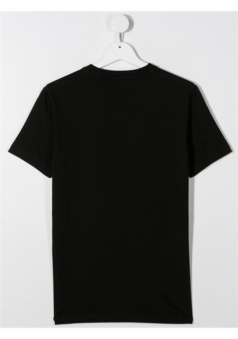 T-shirt nera DSQUARED | T-SHIRT | DQ046WD00XGTD2T579MTDQ900