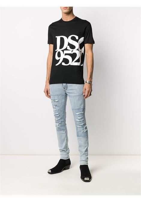 T-shirt nera DSQUARED | T-SHIRT | S71GD0998S23009900