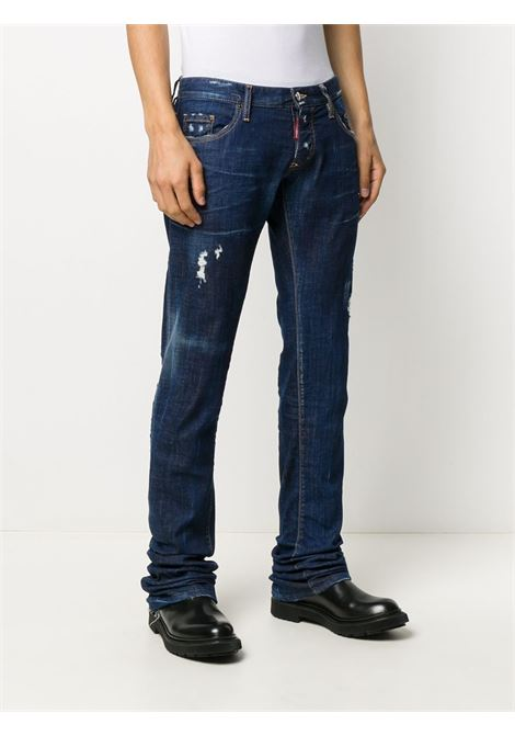 Jeans blu DSQUARED | PANTALONI | S71LB0788S30342470