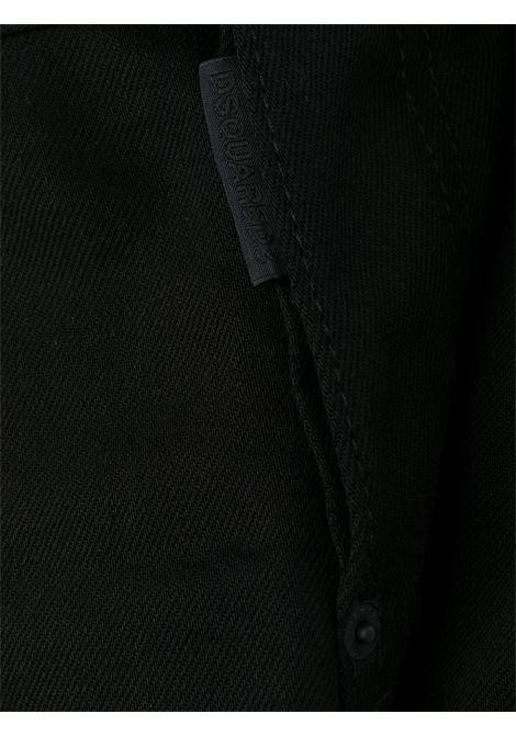 Pantalone nero DSQUARED | PANTALONI | S71LB0804S30564900