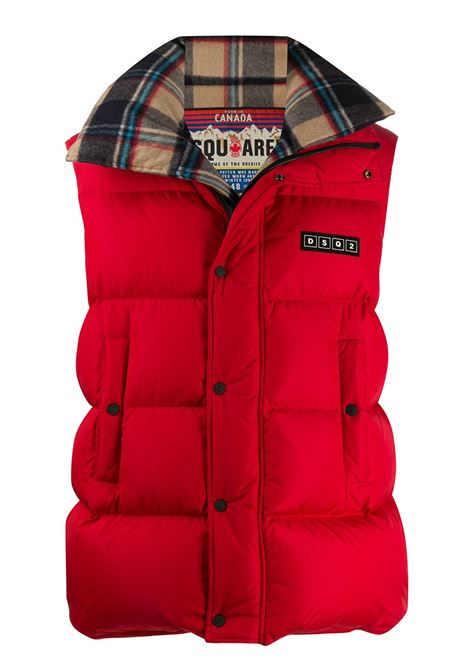 Gilet rosso DSQUARED | GILET | S74FB0265S53140309