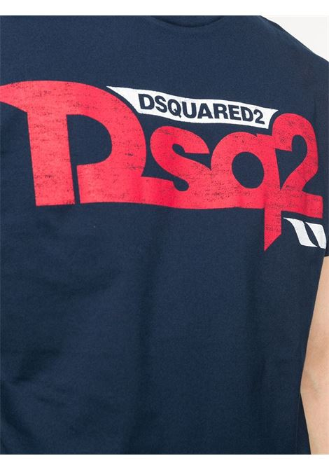T-shirt blu DSQUARED | T-SHIRT | S74GD0725S22427478