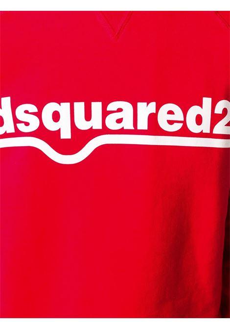 Felpa rossa DSQUARED   FELPE   S74GU0460S25030307