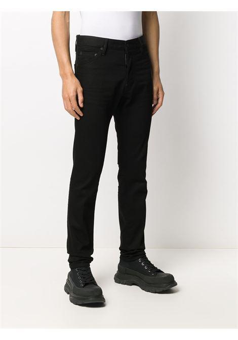 Pantalone nero DSQUARED | PANTALONI | S74LB0779S30564900