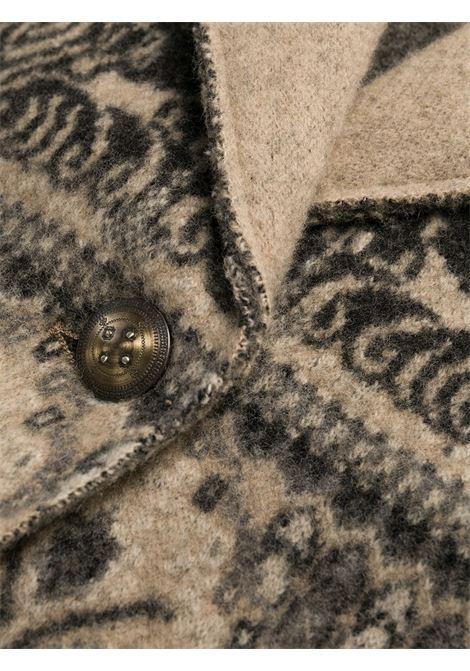 Beige/grey coat ETRO |  | 194159161800