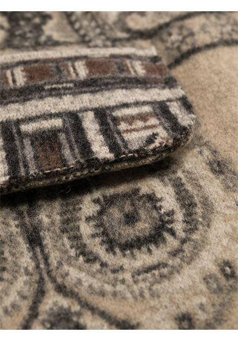 Cappotto beige/grigio ETRO | MAGLIE | 194159161800