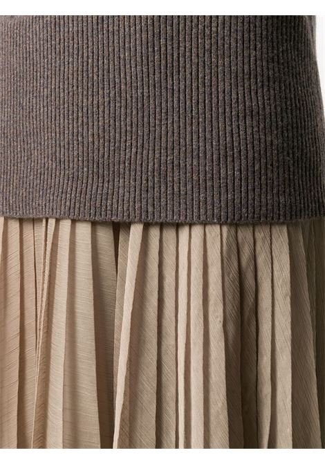 Beige/Brown dress FABIANA FILIPPI |  | ABD220W172C461VR1
