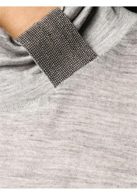 Grey jumper FABIANA FILIPPI |  | JED220W153D0908132