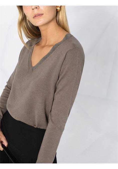 Grey jumper FABIANA FILIPPI |  | MAD220W011N1281219