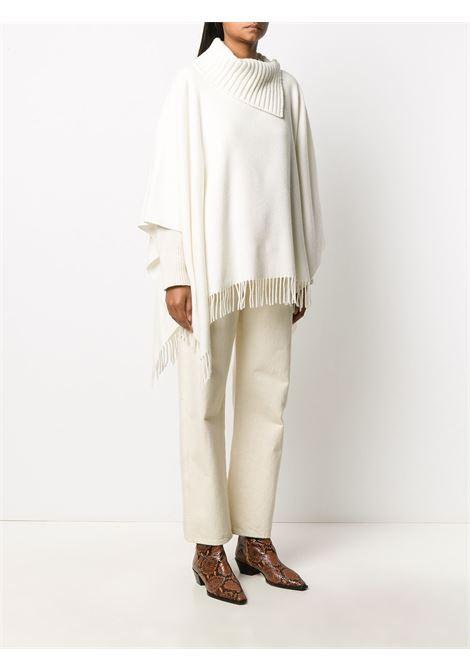 Poncho bianco FABIANA FILIPPI | PONCHO | SAD220W475N12825