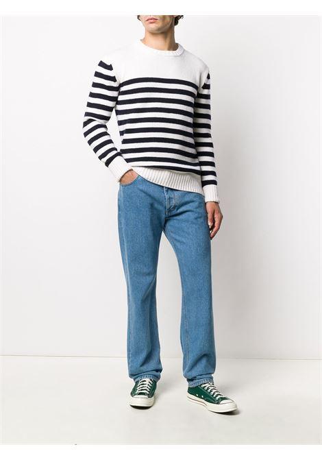 White striped pattern jumper FAY |  | NMMC1412790SDA134E