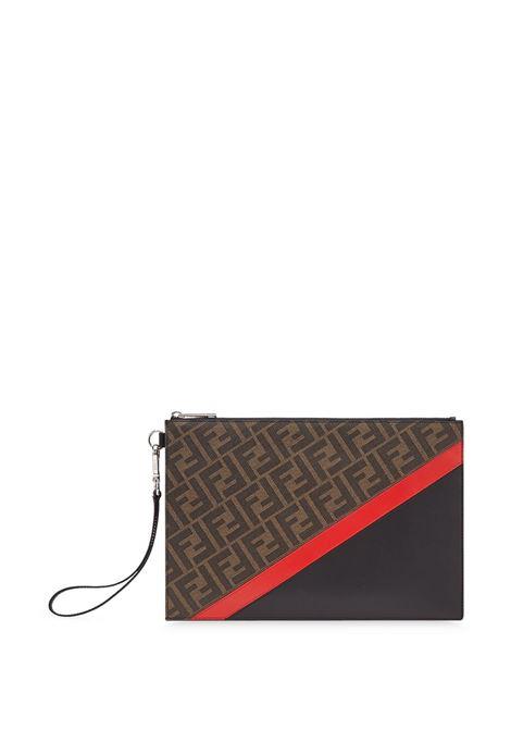 Brown pouch FENDI |  | 7N0110A9XSF19P9
