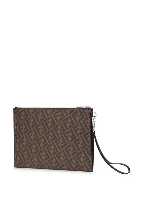 Brown pouch FENDI |  | 7N0110A9XSF19P9