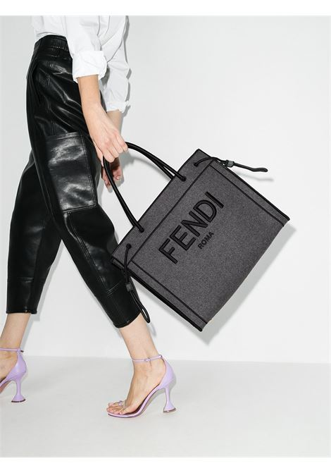 Borsa grigia FENDI | SHOPPERS | 8BH379AD6BF0RP3