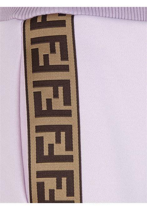 Pantalone rosa FENDI | PANTALONI | FAB156ADH8F1B62