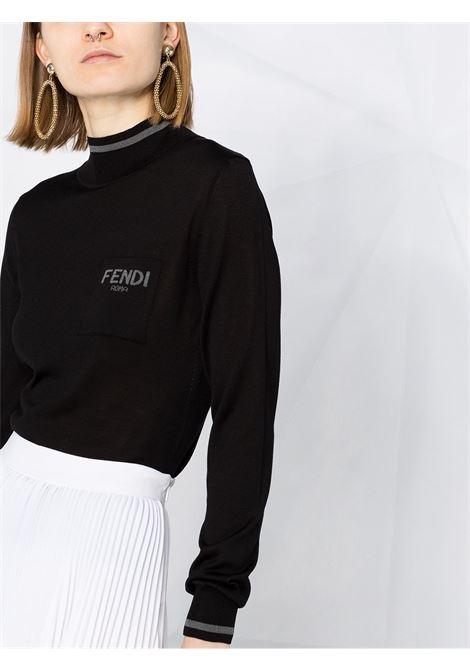 Pullover nero FENDI   PULLOVER   FZX621AEPPF0GME
