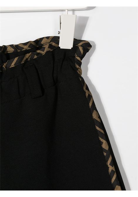 Pantalone nero FENDI | PANTALONI | JFF206A6IKF0QA1