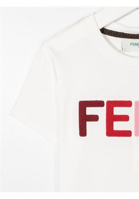 Maglia bianca FENDI | T-SHIRT | JFI2037AJF0TU9