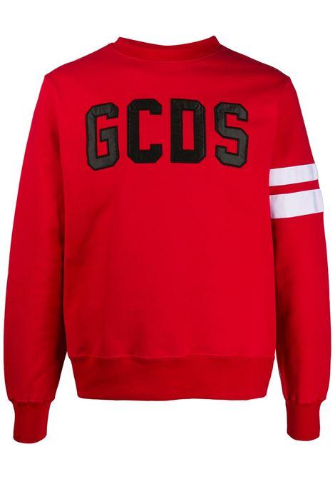 Red sweatshirt GCDS | SWEATSHIRTS | CC94M02100303