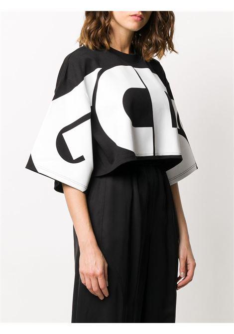 T-shirt nera GCDS | T-SHIRT | CC94W02100102