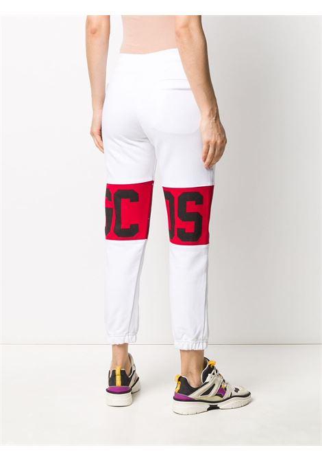 Pantalone bianco GCDS | PANTALONI | CC94W03100101