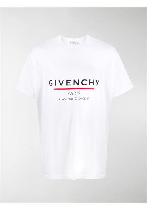 White t-shirt GIVENCHY |  | BM70U23002100