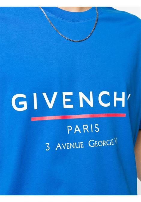 Blue t-shirt GIVENCHY |  | BM70U23002426