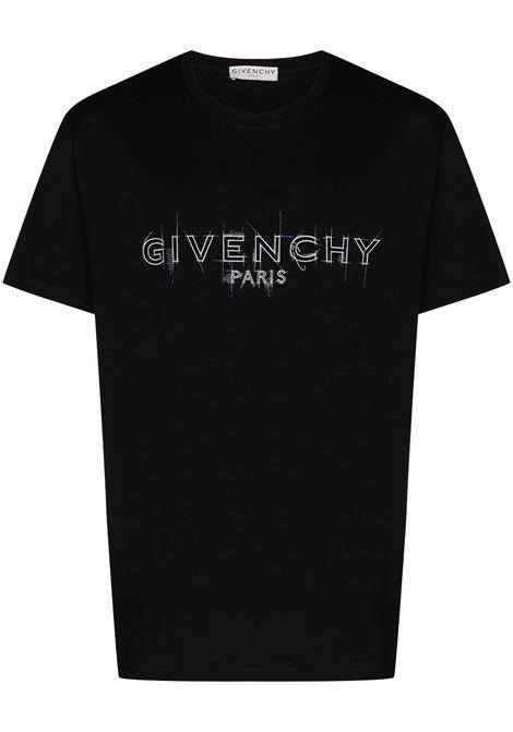 Black t-shirt GIVENCHY |  | BM70ZQ3002001