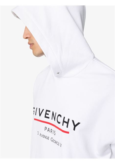 Felpa bianca GIVENCHY | FELPE | BMJ05430AF100