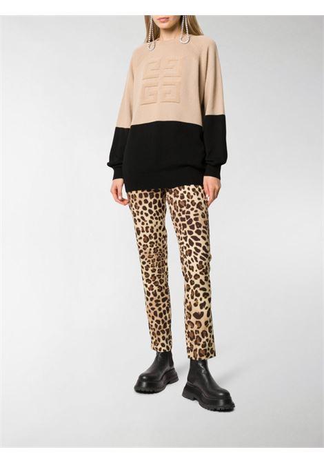 Black/beige jumper GIVENCHY |  | BW908N4Z68007