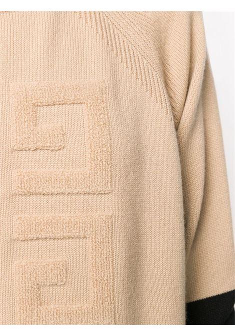 Maglia nero/beige GIVENCHY | MAGLIE | BW908N4Z68007