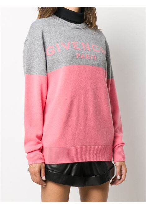 Grey/pink jumper GIVENCHY |  | BW90AE4Z7H957