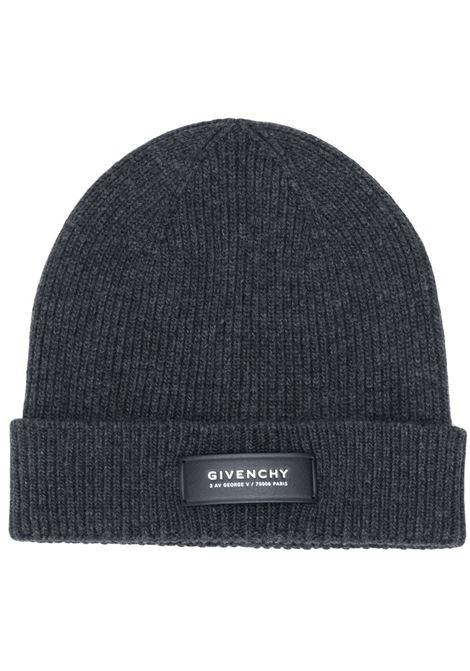 Dark grey beanie GIVENCHY      GVCAP1U18455