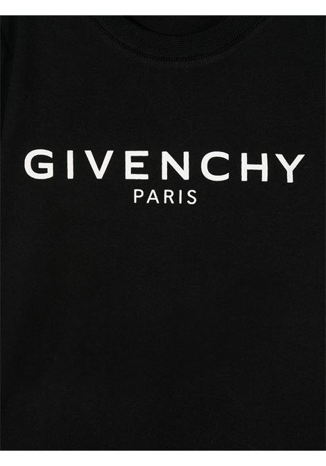 T-shirt nera GIVENCHY | T-SHIRT | H05J16B09B