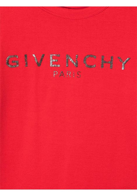 T-shirt rossa GIVENCHY | T-SHIRT | H15185991