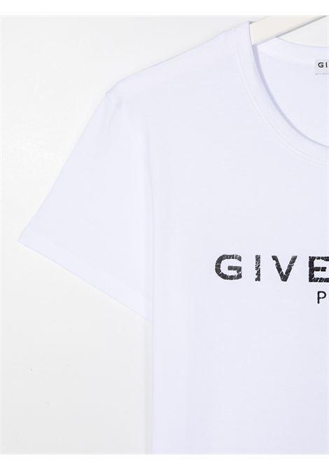 T-shirt bianca GIVENCHY | T-SHIRT | H15185T10B