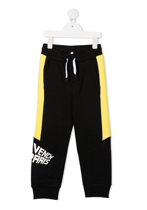 Pantalone nero/giallo GIVENCHY | PANTALONI | H24102M55