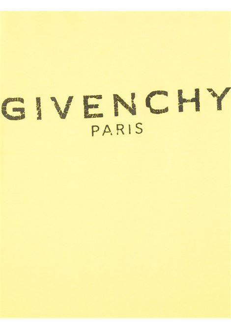 T-shirt gialla GIVENCHY | T-SHIRT | H25J47508
