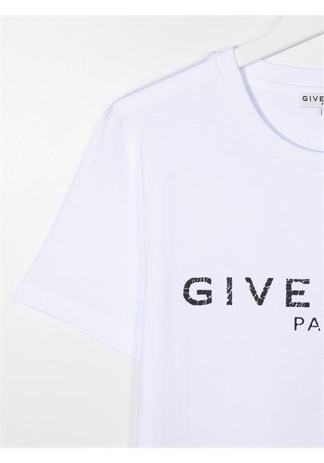 T-shirt bianca GIVENCHY | T-SHIRT | H25J47T10B