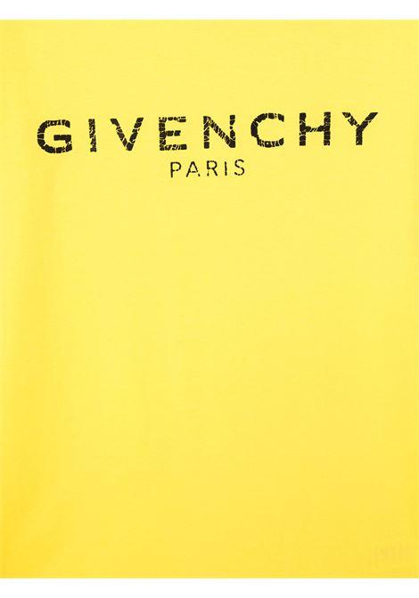 T-shirt giallo GIVENCHY | T-SHIRT | H25J47T508