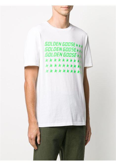 White t-shirt GOLDEN GOOSE | T-SHIRT | GMP00462P00018710370