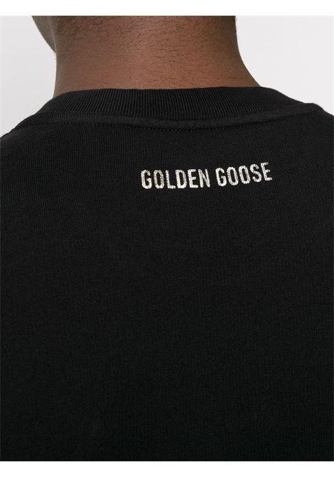 Felpa nera GOLDEN GOOSE | MAGLIE | GMP00469P00029890200
