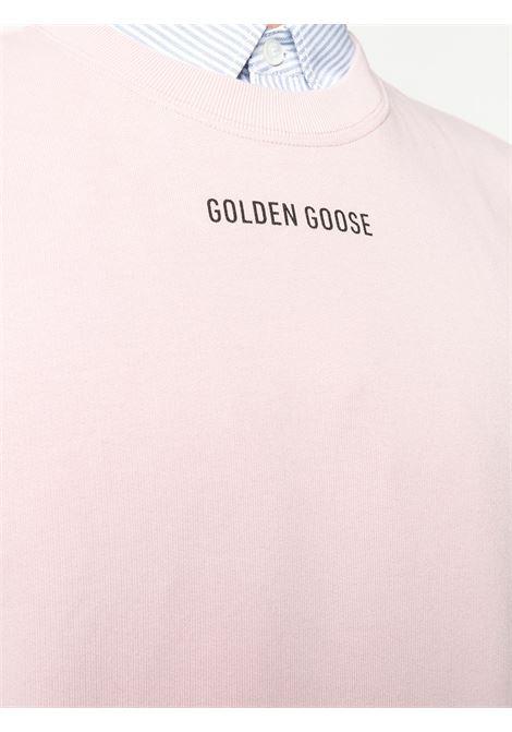 Felpa rosa GOLDEN GOOSE | MAGLIE | GMP00470P00020725532