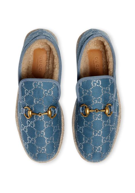 Macassini blu GUCCI | MOCASSINI | 5758502C8404693
