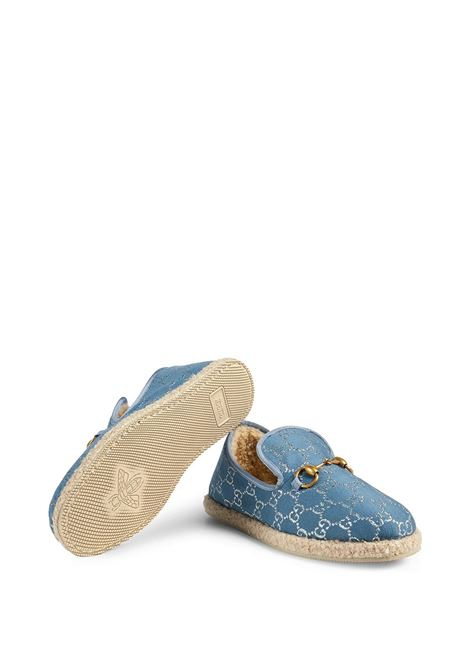 Blue loafers GUCCI |  | 5758502C8404693