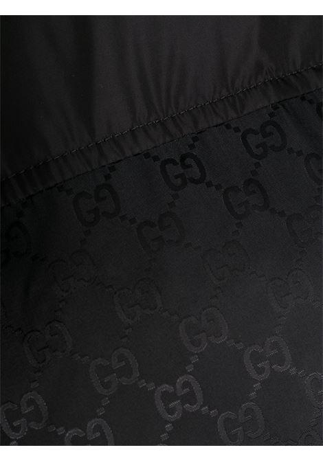 Giubbino nero GUCCI | CAPPOTTI | 603569Z8AFZ1043